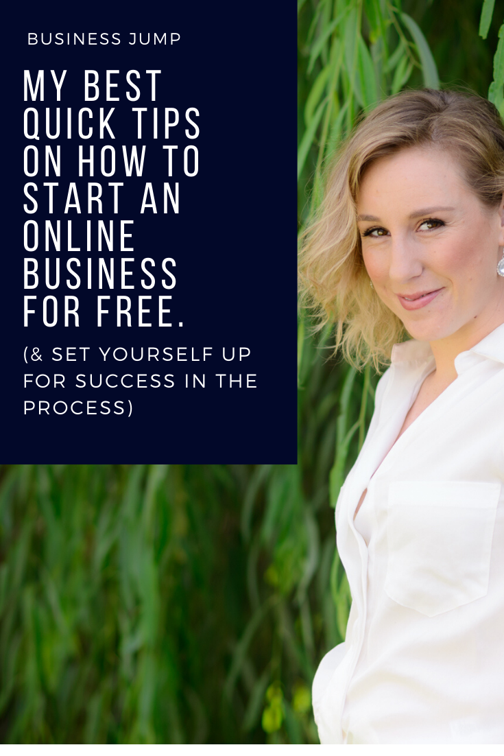 my best tips to start an online business for free